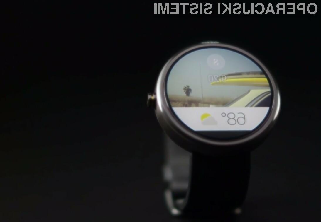 Prva pomembna posodobitev za Android Wear