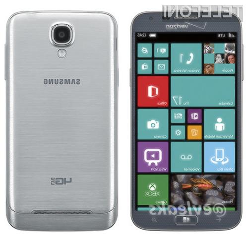 Podjetje Samsung naj bi pametni mobilni telefon ATIV SE z Windowsi Phone 8.1 predstavilo že konec aprila.