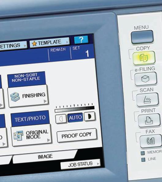 Enostavno tiskanje, kopiranje in skeniranje za dijake na šolah