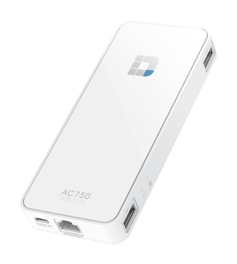 Prenosni brezžični usmerjevalnik AC750  in polnilnik omogoča povezovanje in polnjenje mobilnih naprav ter pretakanje predstavnosti kjerkoli in kadarkoli
