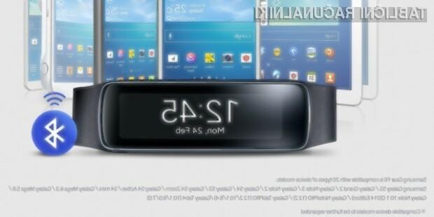 Tablični računalniki družine Galaxy Tab 4 bodo polno združljivi s pametno ročno uro Sasmung Gear Fit.