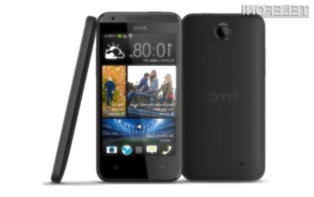 HTC DESIRE 310 se pričakuje v Sloveniji v aprilu