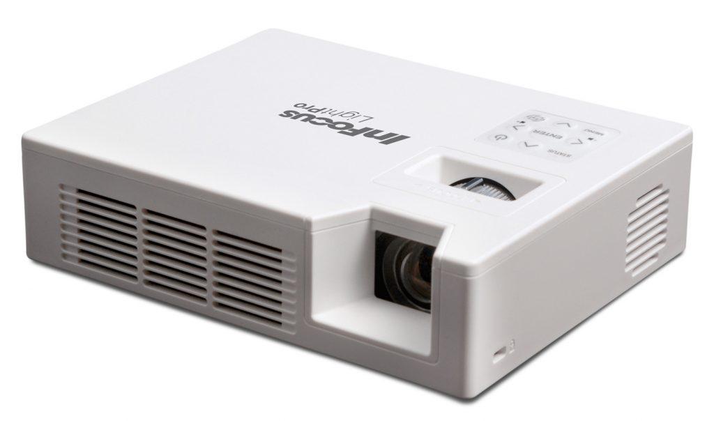 Projektor InFocus IN1146 je izredno lahek in majhen prenosni projektor, ki ne zahteva vzdrževanja.