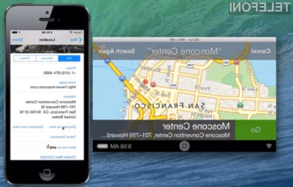 Vsestransko uporabni mobilni operacijski sistem Apple iOS bomo ugledali tudi v avtomobilih!
