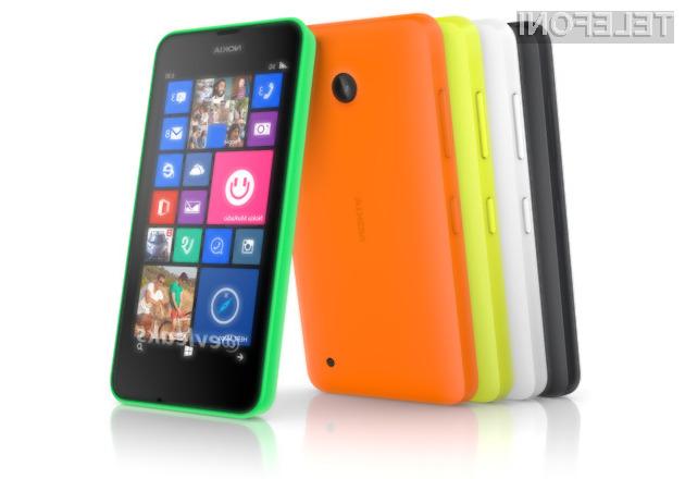 Pametni mobilni telefon Nokia Lumia 630 naj bi bil kot prvi predstavnik družine Lumia opremljen zgolj z navideznimi tipkami za navigacijo.