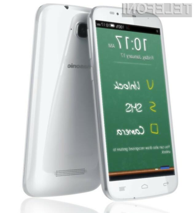 Pametni mobilni telefon Panasonic P31 se bo zlahka prikupil tudi nekoliko zahtevnejšim uporabnikom.