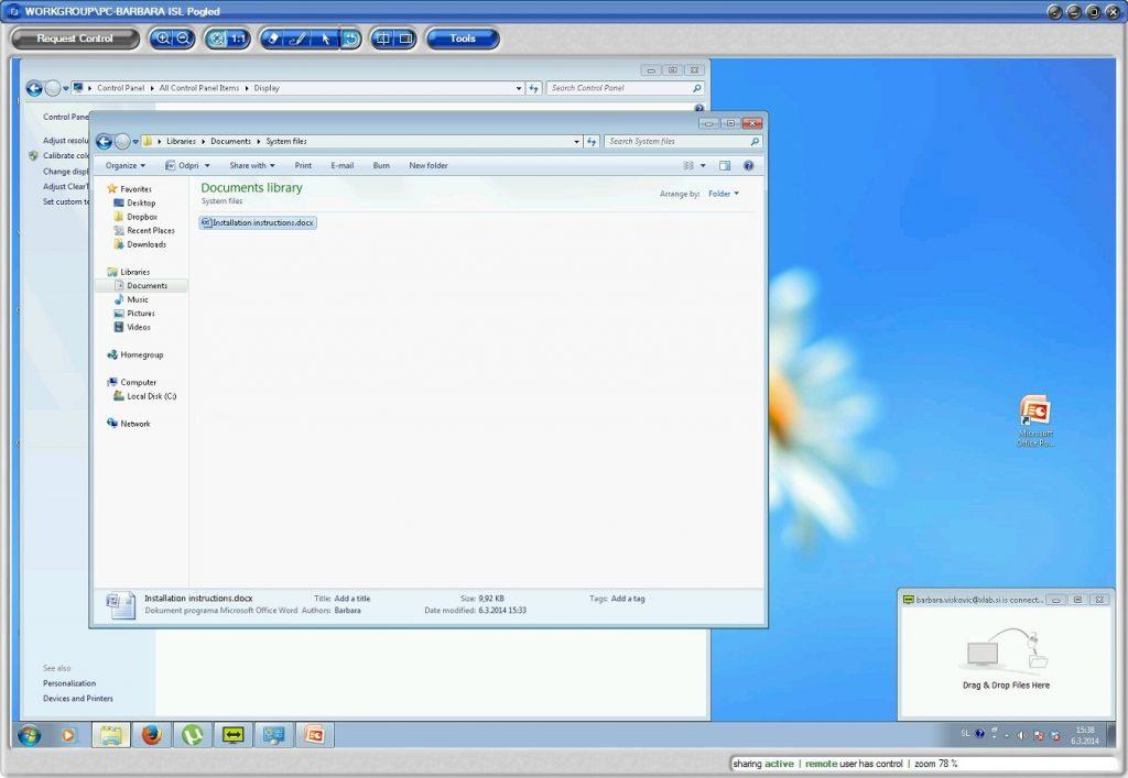 Nadzor oddaljenega računalnika in enostaven prenos datotek z ISL AlwaysOn 2.2.