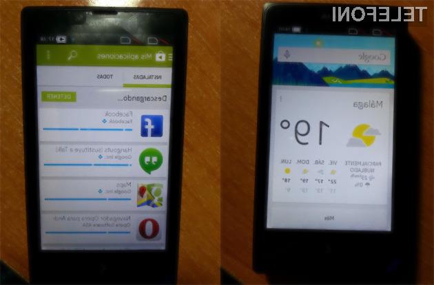 Nokio X je mogoče z le nekaj koraki preleviti v čistokrvni pametni mobilni telefon Android.