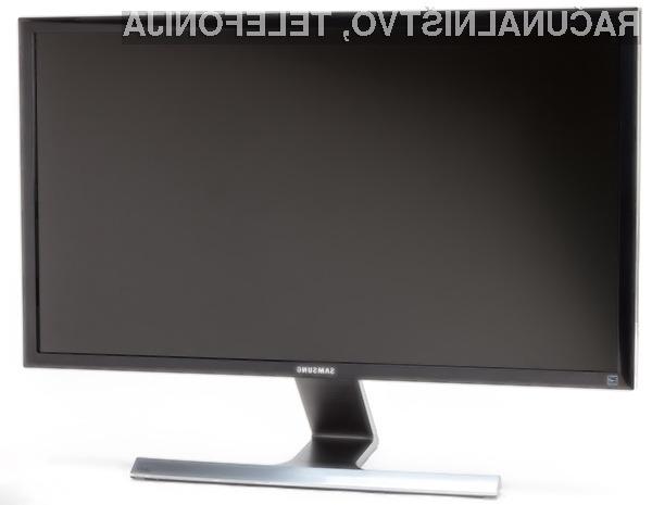 Za novo generacijo računalniških zaslonov ločljivosti Ultra HD bo kmalu potrebno odšteti le še okoli 600 evrov.