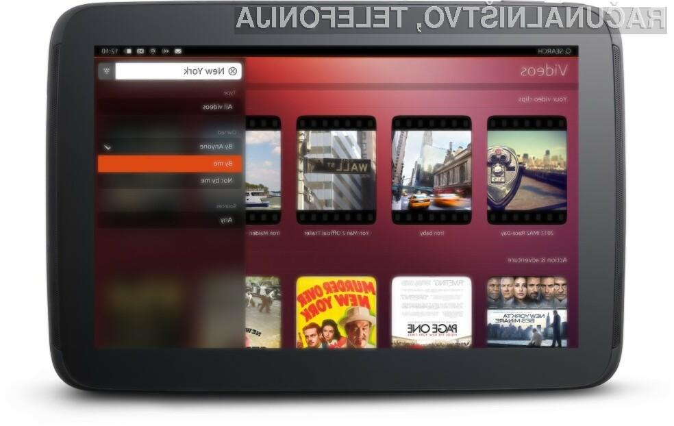 Mobilni operacijski sistem Ubuntu 14.04 naj bi opazno povečal uporabnost tabličnih računalnikov.