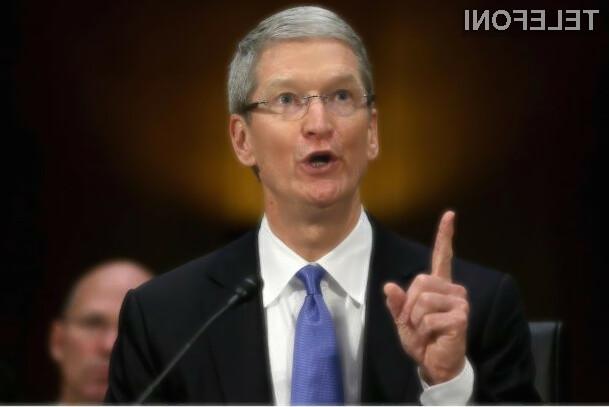 Tim Cook je predstavnikov družbe NCPPR dal jasno vedeti, da dobiček ni temeljna vrednota podjetja Apple!