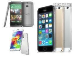 Nerodnim je zdaleč najbolj pisan na kožo pametni mobilni telefon Samsung Galaxy S5!
