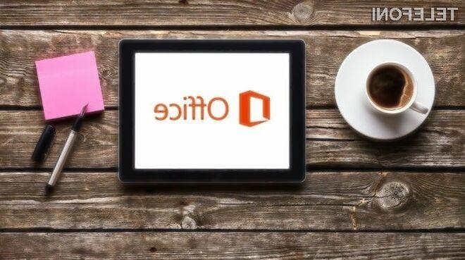 Uporabniki tabličnih računalnikov iPad so nad mobilno inačico pisarniškega paketa Office nadvse navdušeni!