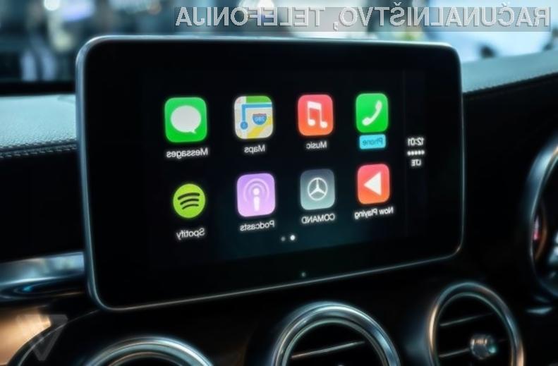 Applov avtomobilski sistem CarPlay se odlično prilega sodobnim avtomobilom!