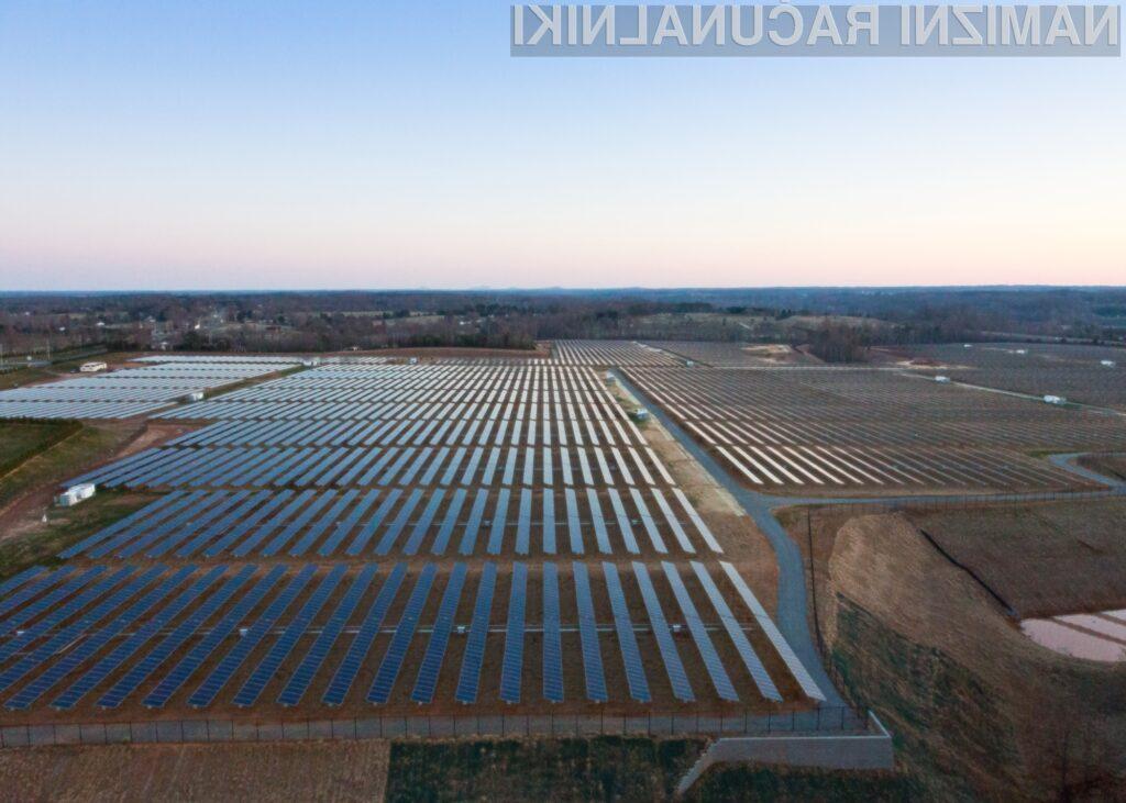 Apple je dobil najvišjo oceno za napredke na področju sprejemanja zelene energije.