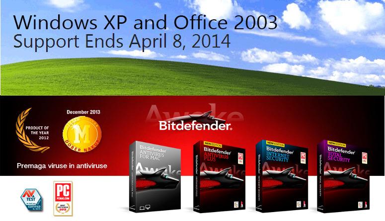 Pri Bitdefenderju ohranjajo podporo za uporabnike Windows XP.