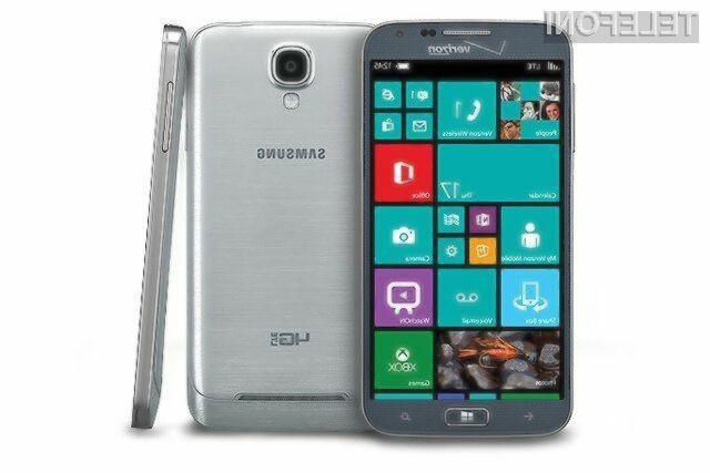 Samsung ATIV SE bo ponujal vse napredne možnosti najnovejšega Microsoftovega mobilnega operacijskega sistema Windows Phone 8.1.