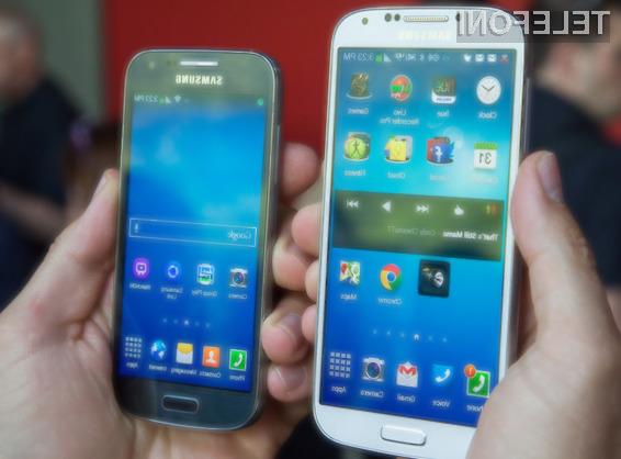 Nadvse zanimivi mobilnik Samsung Galaxy S5 mini naj bi luč sveta ugledal že junija.