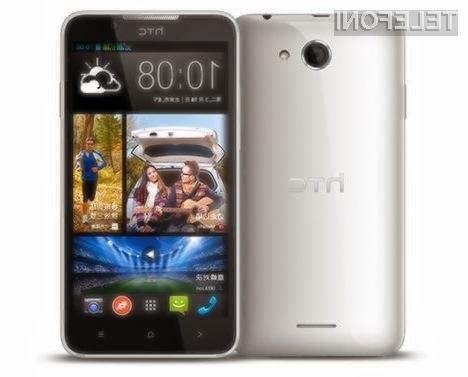 Mobilnik HTC Desire 316 je kljub relativno nizki maloprodajni ceni kos tudi nekoliko zahtevnejšim nalogam.