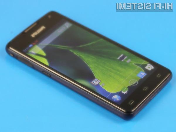 ametni mobilni telefon Philips Xenium W6618 se lahko pobaha tako z dolgo avtonomijo delovanja kot hitrim polnjenjem!