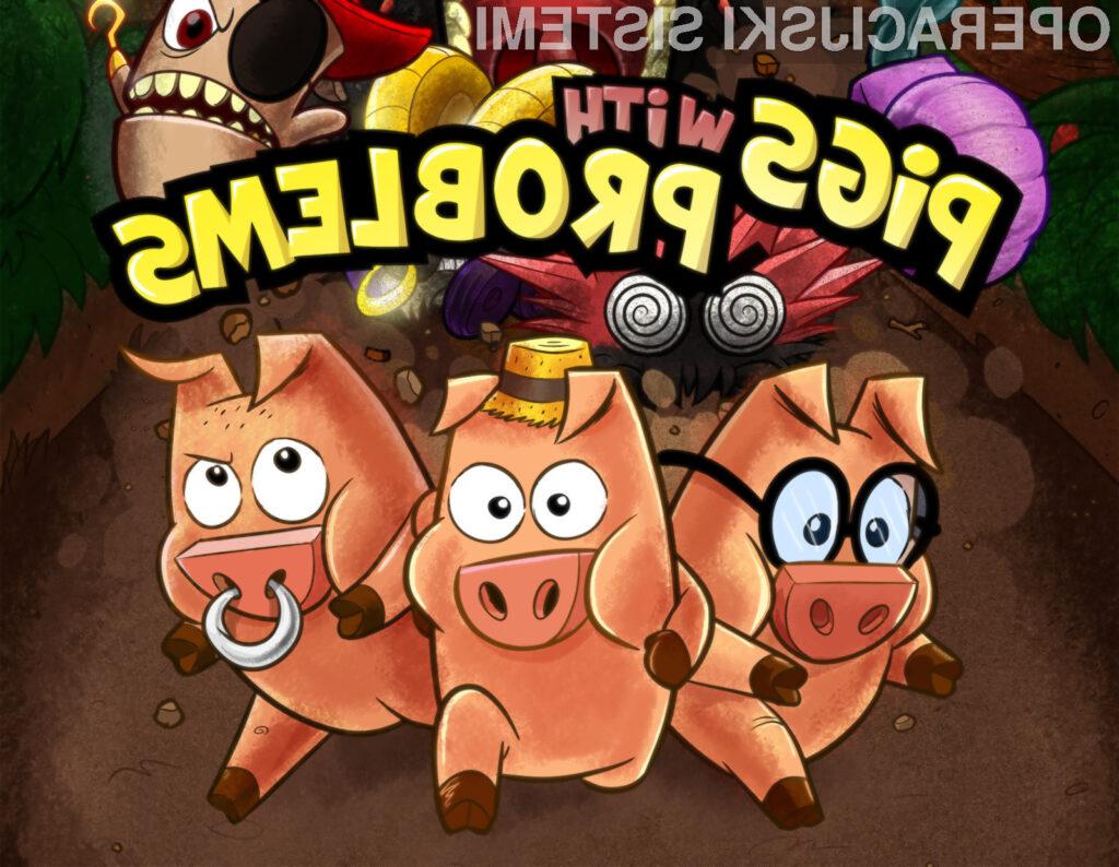 Pigs With Problems: iOS igra slovenskih razvijalcev