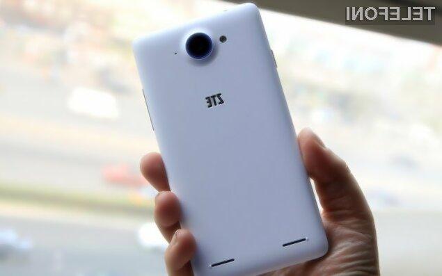 Pametni mobilni telefon ZTE Redbull kljub nizki maloprodajni ceni ponuja veliko.