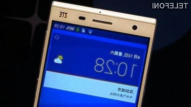 Pametni mobilni telefon ZTE Star 1 LTE kljub nizki maloprodajni ceni ponuja veliko.