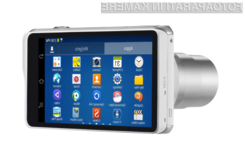 Pametni digitalni fotoaparat Samsung Galaxy Camera 2 bo zlahka prepričal tudi najzahtevnejše uporabnike.