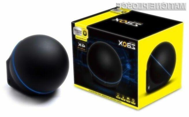 Kompaktni osebni računalnik ZBOX OI520 sferične oblike vas bo zlahka prevzel.