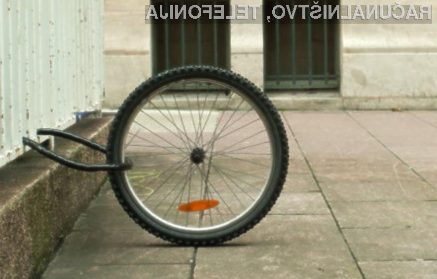 Uporaba navigacijskega sistema GPS naj bi pripomogla k občutnemu zmanjšanju kraje koles.