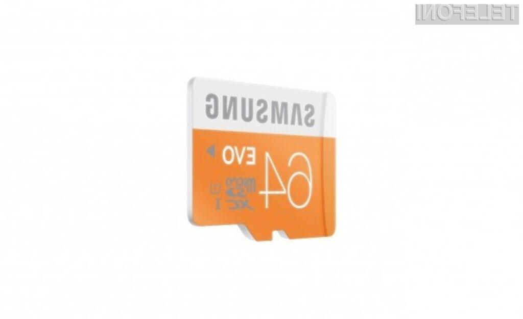 Nove pomnilniške kartice Samsung nas nikakor ne bodo pustile na cedilu.