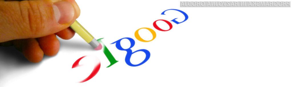 Zmaga človekovih pravic nad Googlom