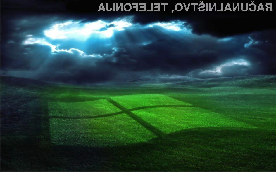 Čeprav je Microsoft operacijskemu sistemu Windows XP odrekel podporo, ga še vedno uporablja več kot četrtina uporabnikov svetovnega spleta!