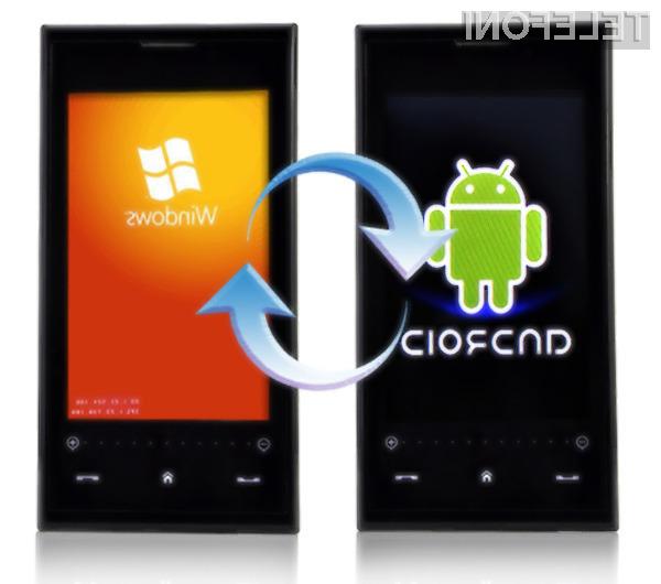 Mobilnik Nokia X2 naj bi poganjal tako mobilni operacijski sistem Android kot Windows Phone.