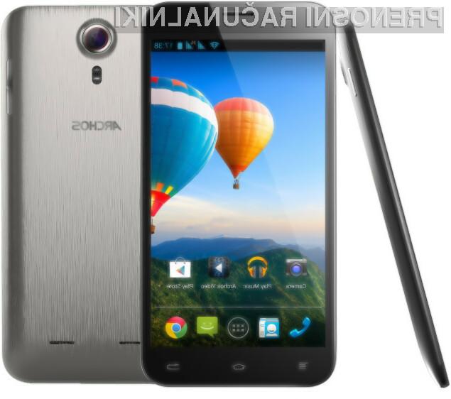 Mobilnik Archos 64 Xenon je kljub relativno nizki maloprodajni ceni izjemno odziven in vsestransko uporaben.