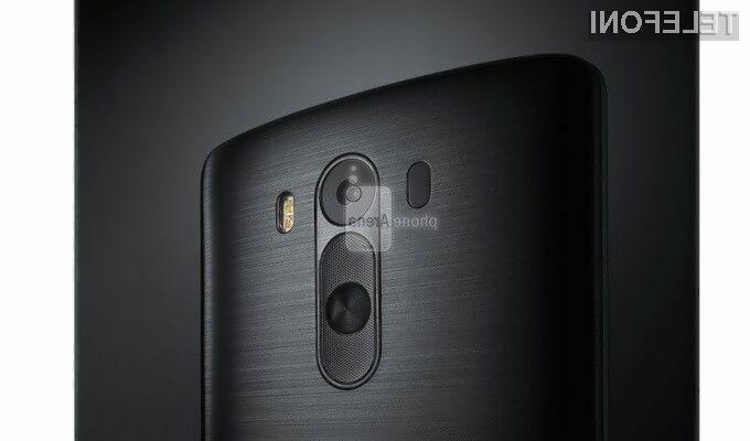 Pametni mobilni telefon LG G3 naj bi navduševal tako po strojni kot oblikovni plati.