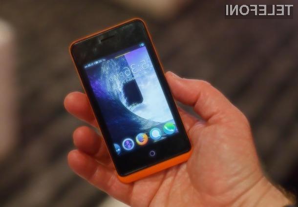 Superpoceni pametni mobilni telefon s sistemom Firefox OS naj bi bil nared za prodajo še pred koncem jeseni.