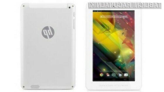 Superpoceni tablica HP 7 Plus Android naj bi kmalu zašla tudi v Evropo.