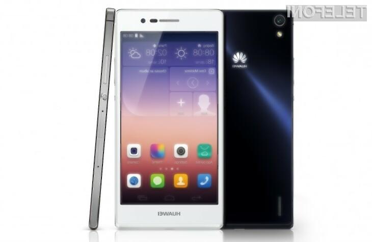 Huawei Ascend P7 naj bi zlahka prepričal tudi zahtevne uporabnike storitev mobilne telefonije!