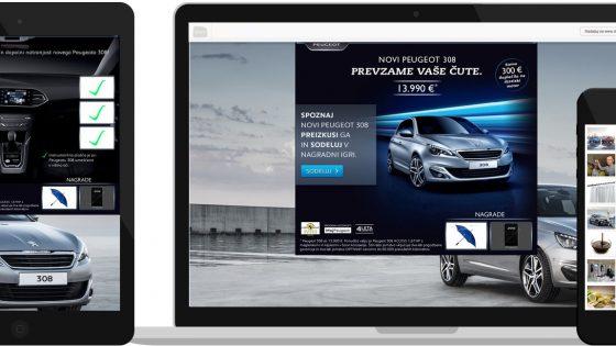 Peugeot Slovenija z uporabo »big data« podatkov do rekordne, 30-odstotne konverzije
