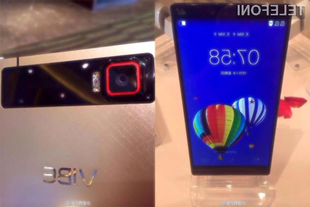 Pametni mobilni telefon Lenovo Vibe Z2 Pro s kovinskim ohišjem bo kot nalašč za poslovneže in petičneže.