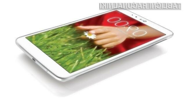 Kompaktni tablični računalnik LG G Pad 7.0 se bo zlahka prikupil tudi zahtevnejšim uporabnikom!