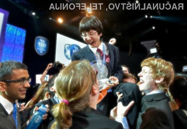Nathan Han iz Bostona je prejel nagrado Gordona E. Moora v višini 75.000 USD, poimenovano po soustanovitelju podjetja Intel, ki je bil tudi sam znanstvenik.