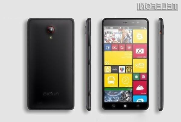 Pametni mobilni telefon ZTE Nubia W5 naj bi prevzel lovoriko nezmogljivejšega mobilnika Windows Phone na planetu.