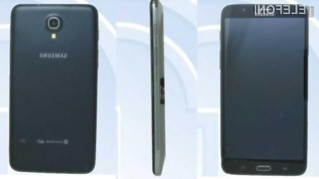 Pametni mobilni telefon Samsung Galaxy Mega 2 bomo le stežka držali v eni roki!