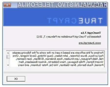 Zaustavitev razvoja odprtokodnega programa TrueCrypt naj bi bila posledica pritiska na programerje s strani ameriških obveščevalnih služb.