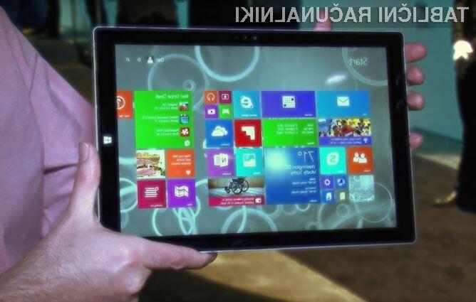 Tablični računalnik Microsoft Surface Pro 3 lahko brez težav nadomesti prenosnik!