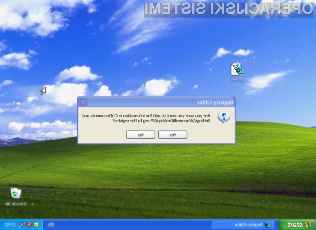 Windows XP bo varnostne popravke lahko prejemal vsaj do leta 2019!