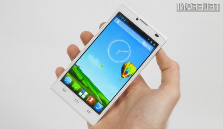 Pametni mobilni telefon ZTE Blade L2 kljub nizki maloprodajni ceni ponuja veliko.