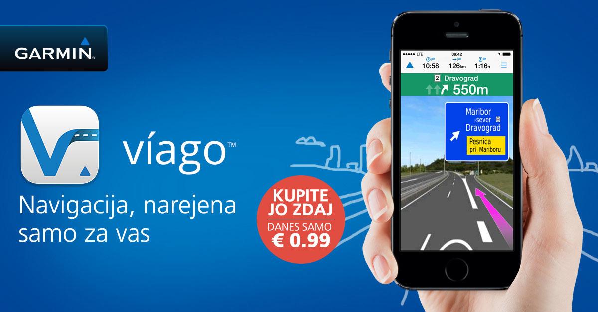 Garmin Viago je navigacija za Android in iOS, ki jo lahko nadgradite tudi z offline uporabo.